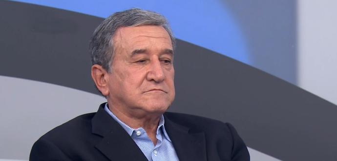 Carlos Alberto Parreira no programa Bem, Amigos! (Foto: Reprodução SporTV)