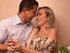 Grávida, Leticia Santiago faz festa para revelar sexo do bebê; veja vídeo