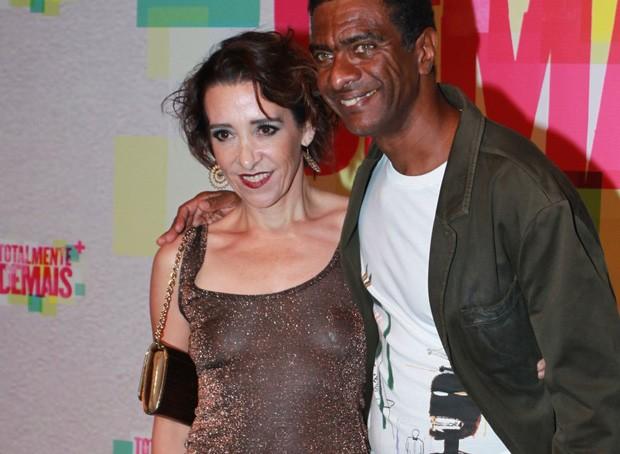 Ana Quintella e Hélio de La Penã (Foto: Anderson Borde e Marcelo Sá Barreto / AgNews)