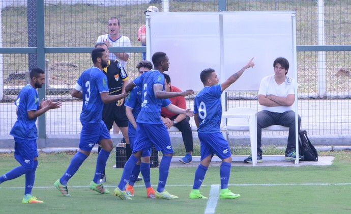 União Mogi x São José EC - Paulista 2ª Divisão (Foto: Milena Antunes)