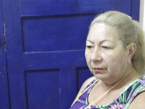 Mãe de Herika (Foto: Rafael Barbosa/G1)