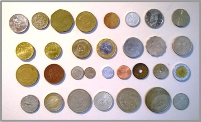 Figura 1: moedas (Foto: Reprodução/Internet)