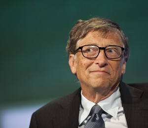 Bill Gates voltou a ser o homem mais rico do mundo (Foto: Ramin Talaie/Getty Images)
