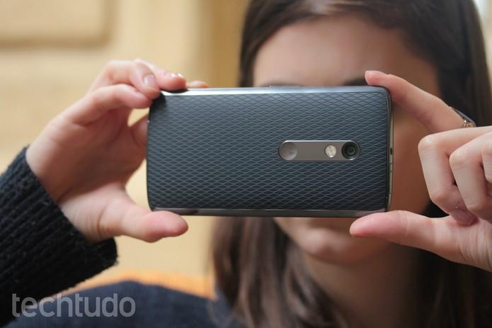 Câmera do Moto X Play (Foto: Lucas Mendes/TechTudo)