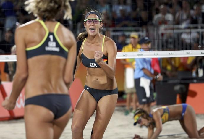 Ágatha e Bárbara final vôlei de praia (Foto: Adrees Latif/REUTERS)