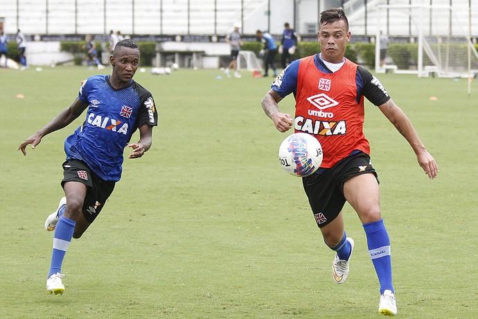 bernardo yago treino vasco (Foto: Marcelo Sadio/vasco.com.br)
