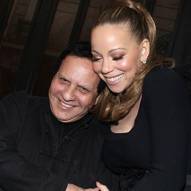 Azzedine Alaïa e Mariah Carey (Foto: reprodução/instagram)