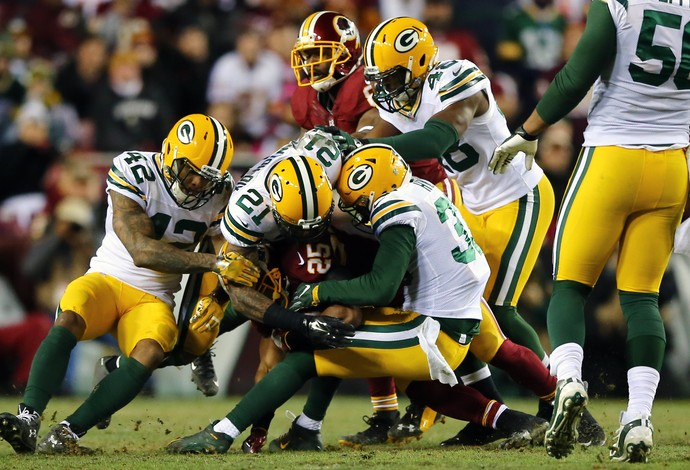 Defesa Green Bay Packers playoffs nfl (Foto: Getty Images)