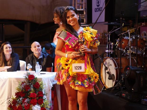 Kessia ALves, terceira colocada no concurso Beleza Nordestina (Foto: Anderson Barros/ EGO)