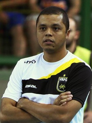Alessandro Fadul, técnico do Volta Redonda (Foto: Arquivo Pessoal/Alessandro Fadul)