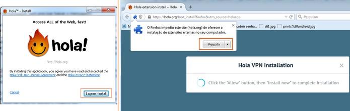 Instale o Hola no seu navegador (Foto: Reprodução/Barbara Mannara)