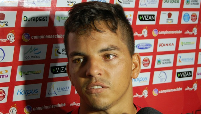 Fabinho, lateral do Campinense (Foto: Silas Batista / GloboEsporte.com)