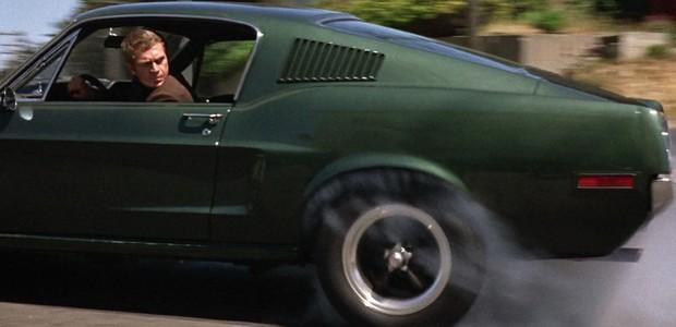 Steve McQueen em Bullitt (Foto: Reprodução)