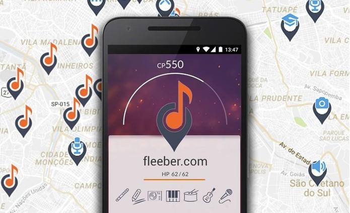 Fleeber é uma rede social para músicos e tem apps para iPhone e Android (Foto: Divulgação/Fleeber)