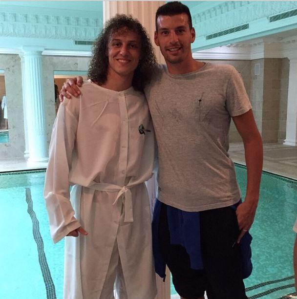 David Luiz (Foto: Reprodução Instagram)