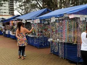Feira de Artesanato no Centro de Convivência de Campinas (SP) (Foto: Luiz Granzotto/Prefeitura de Campinas)