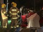 Mãe e filho morrem em acidente provocado por pega em Brasília