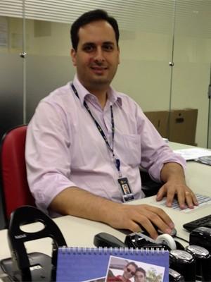 Marcus Hernandez, da Câmara de Comercialização de Energia Elétrica (Foto: Ana Carolina Moreno/G1)