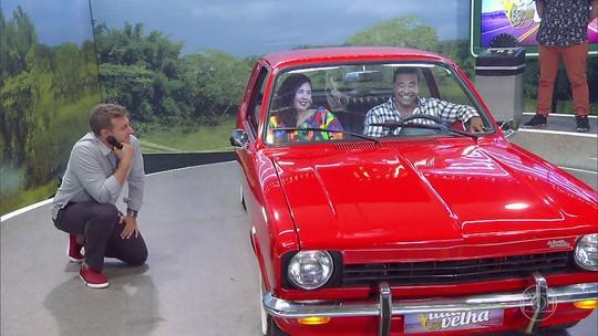 Lata Velha estreia com reforma de Chevette 1975