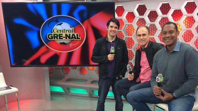 Central Gre-Nal Diego Guichard Paulo Brito Márcio Chagas (Foto: Igor Grossmann/GloboEsporte.com)
