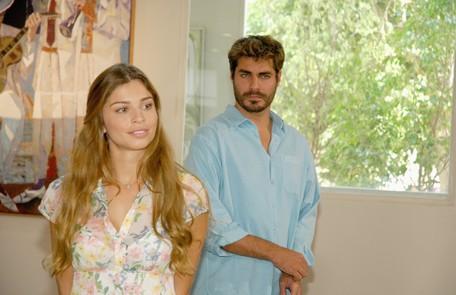 Em 'Páginas da vida', Grazi fez uma participação especial na segunda fase da novela e contracenou com Thiago Lacerda TV Globo