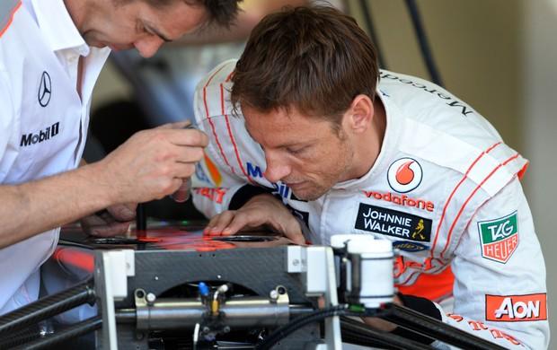 jenson button formula 1 melbourne (Foto: AFP)