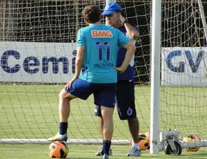 Dagoberto e Marcelo Oliveira (Foto: Tarcísio Badaró)