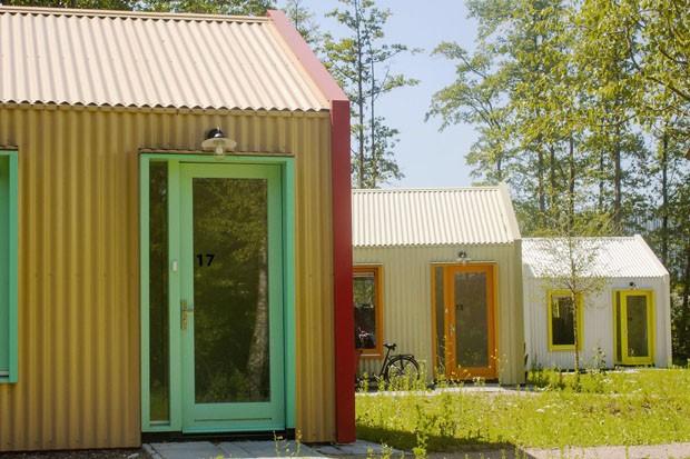"""Holanda cria vila de """"tiny houses"""" para pessoas em situação de rua (Foto: Divulgação)"""