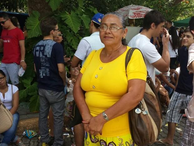 Isabel diz que Enem 2014 é especial por causa do filho (Foto: Diana Vasconcelos\G1)