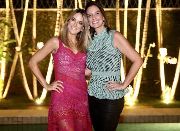 Ticiane Pinheiro e Luciana Cardoso (Foto: Manuela Scarpa/Brazil News)