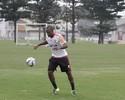 Boas novas: Cáceres treina, e Samir volta aos trabalhos mais intensos