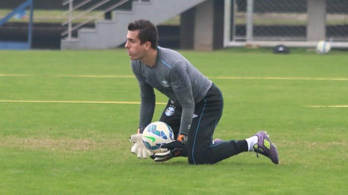 Marcelo Grohe Grêmio (Foto: Eduardo Deconto/GloboEsporte.com)