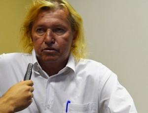 Marinho Chagas, ex-lateral da Seleção Brasileira da Copa do Mundo de 1974 (Foto: Cadu Vieira/ GloboEsporte.com)