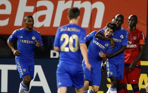 Lucas Piazon gol Chelsea (Foto: Reuters)