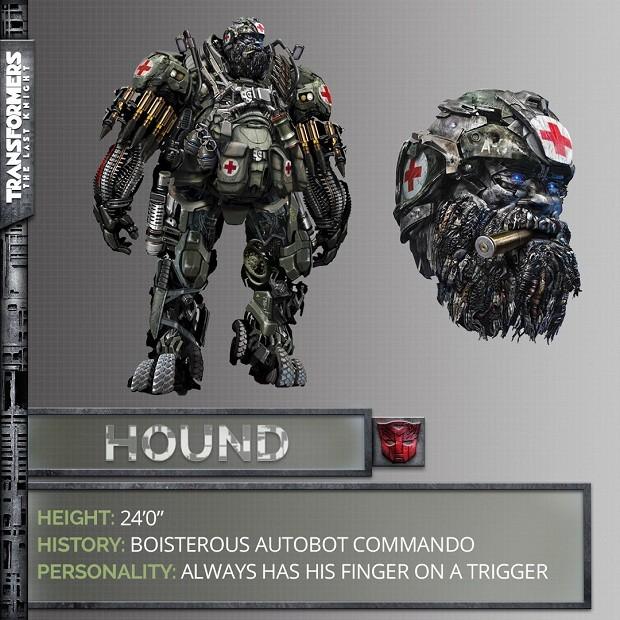 Autobot Hound em Transformers: O Último Cavaleiro (Foto: Divulgação)