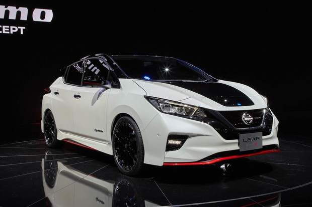 Nissan Leaf Nismo Concept (Foto: Newspress)