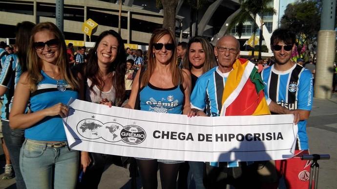 Grêmio Maracanã (Foto: Felippe Costa)