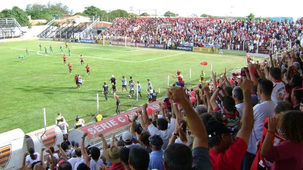 Oeste x Icasa - Série C (Foto: Alan Schneider/Globoesporte.com)
