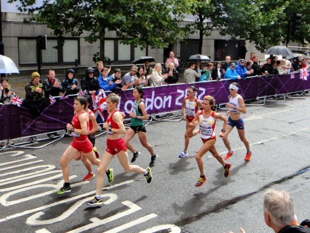 Grupo de maratonistas em Londres-2012 (Foto: Wikipédia)