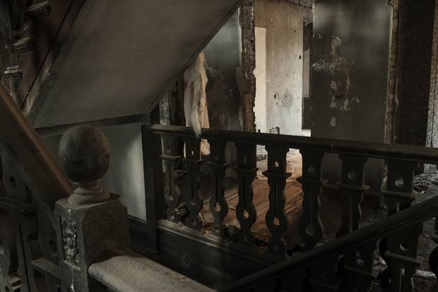 Abandonado por décadas, imóvel seria 'mal-assombrado' (Foto: Gilles Sabrie/The New York Times)