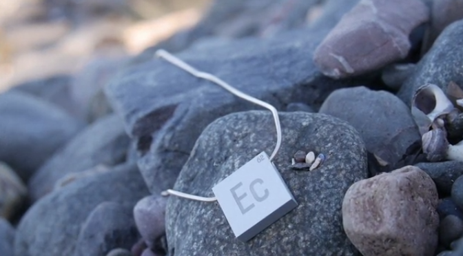 O colar dos elementos (FOTO: ELEMENT CUBE)
