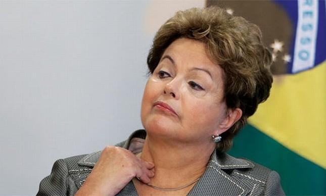 Dilma Rousseff (Foto: Dida Sampaio / Estadão Conteúdo / VEJA)