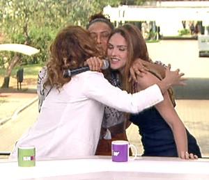 Taís Araújo, Isabelle Drummond e Leandra Leal se reencontram para volta de 'Cheias de Charme' (Foto: TV Globo)