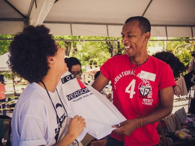 Projeto social arrecada doações para moradores de rua (Foto: Divulgação / assessoria)