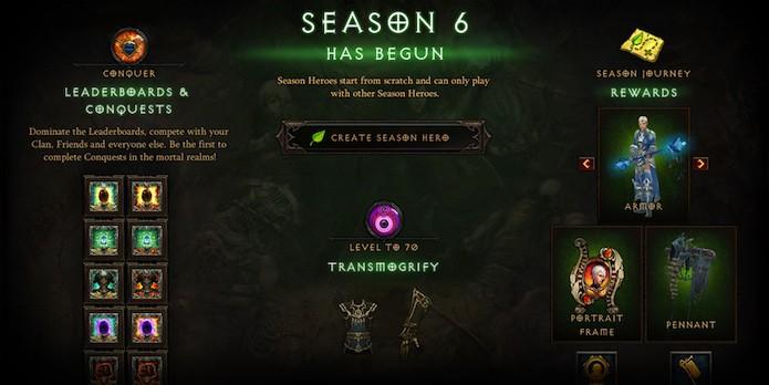Diablo 3: modo de temporadas se limita ao PC (Foto: Divulgação/Blizzard)