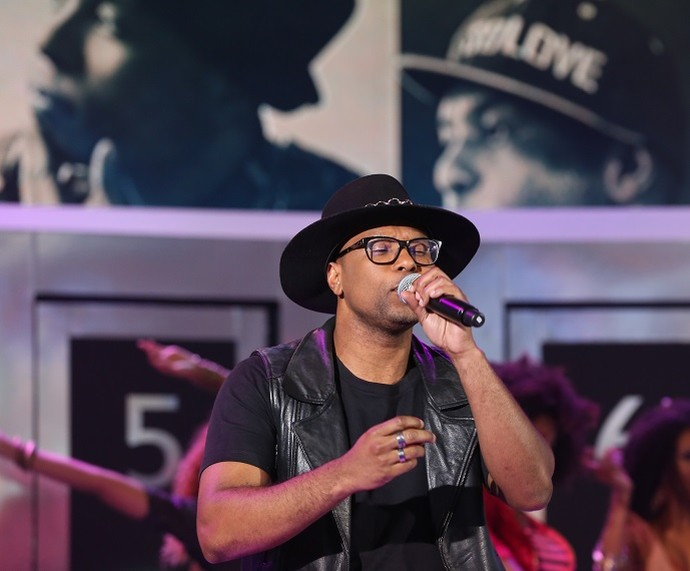 Buchecha cantou a famosa 'Quero Te Encontrar' (Foto: Carol Caminha/Gshow)