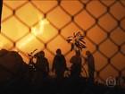 Incêndio atinge fábrica de papel em São Paulo