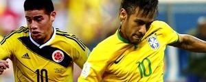 Brasil enfrenta Colômbia às 17h em Fortaleza, em duelo de camisas 10 (Infoesporte)