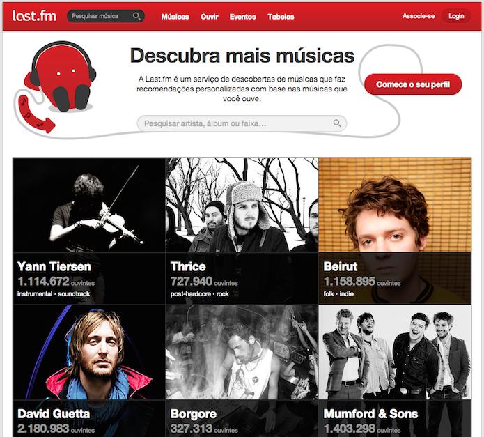 Last.fm encerra serviço de rádio, mantém Spotify e oferece reembolso (Foto: Reprodução/Last.fm)