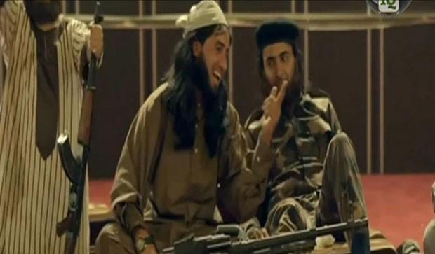 Armada de leveza, série da TV al-Iraqiyya quer contra-atacar na 'guerra da informação online' de extremistas. (Foto: BBC)